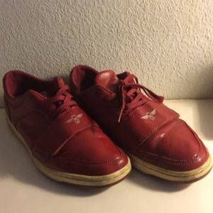 Creative Recreation Red Leather Men Shoe Size 11.5